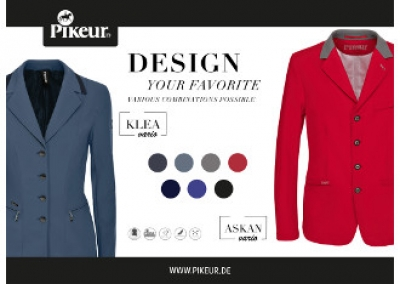 THE NEW KLEA VARIO and ASKAN VARIO JACKETS BY PIKEUR - Jackets that add a personal touch