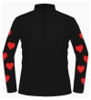 WEARING YOUR HEART ON YOUR SLEEVE! - Bespoke cross country shirt